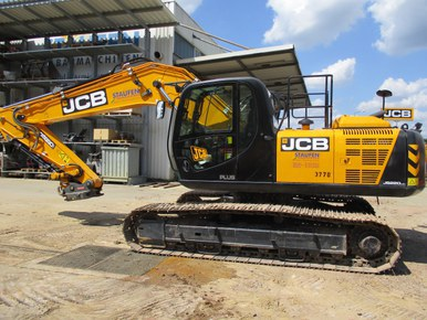 JCB Kettenbagger JS 220 LC