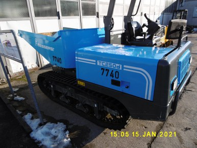 Messersi Dumper TC250d Drehmulde