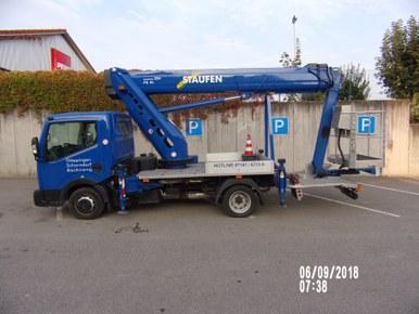 Ruthmann LKW-Arbeitsbühnen TBR 220